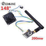 Original Eachine 700TVL 1/3 Cmos FPV 148 Degree Camera w/32CH Transmission