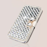Luxury Bling Diamonds Rhinestone Wallet Cover Case For iPhone 6 Plus