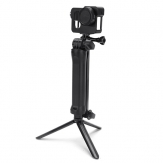 Original Adjustable 3 Way Multi-Function Non Soft Silica Gel Grip Arm Monopod Tripod Mount For GoPro 2 3 4 3 Plus