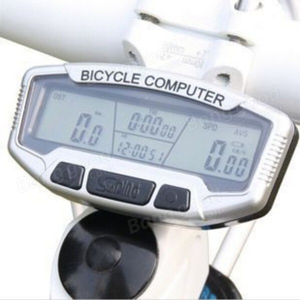 Digital LCD Backlight Bicycle Computer Odometer