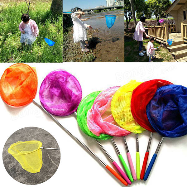 Kids Telescopic Sea Fishing Net Extendable