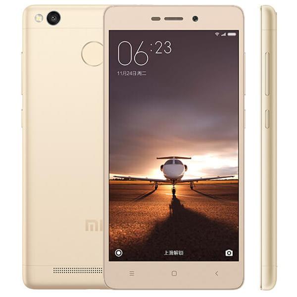 banggood Xiaomi Redmi 3S Snapdragon 430 GOLDEN(ゴールデン)
