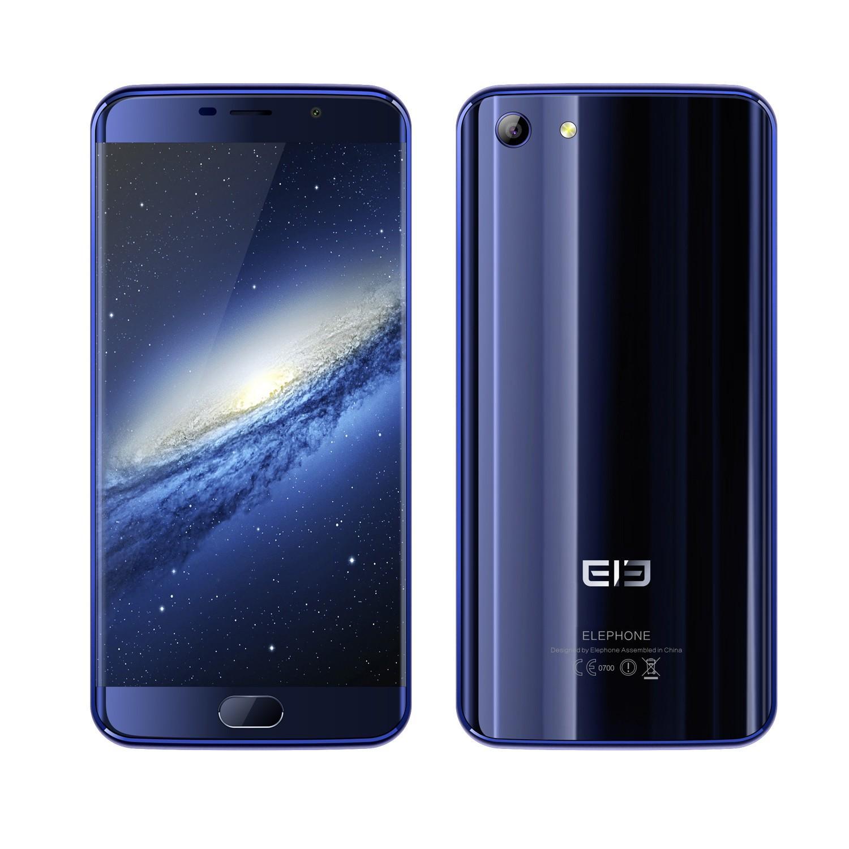 banggood Elephone S7 MTK6797 Helio X20 2.0GHz 10コア BLUE(ブルー)