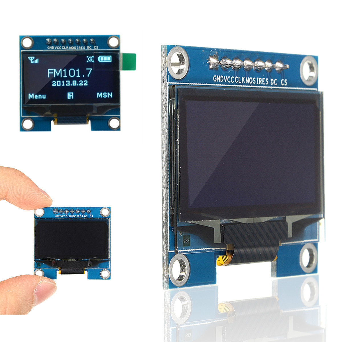 1 3 Inch 128×64 SPI Serial OLED LCD Display Screen Module For
