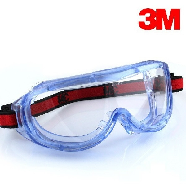 3M 1623AF Anti-fog Safety Glasses Windproof Dust Wind Scratch
