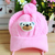 Pasgeboren Baby Boy Girl Gevlochten Gebreide Infant Toddler Soft Haak Bear Hat Beanie Warm Caps