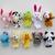 Family Finger Puppets Soft Doek Animal Doll Baby Hand Toys Voor Kid Children Educational Gift