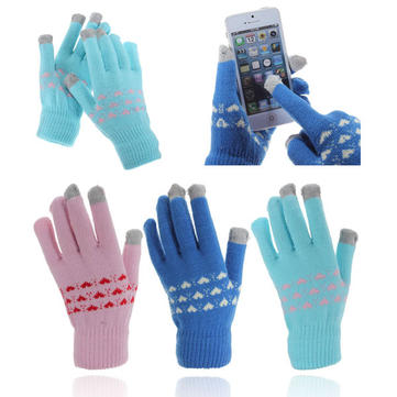 Capacitive Touch Screen Hand Warmer Knit