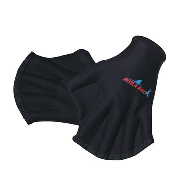 Swimming Finger Webbed Gloves Diving Gloves