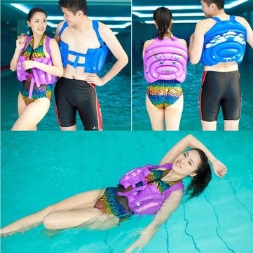 Inflatable Swimming Back Float Swimming Ring