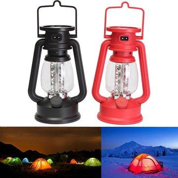 Portatile 16 LED pesca di campeggio della luce della lampada ricaricabile con bussola