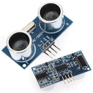 5Pcs Geekcreit® Ultrasonic Module HC-SR04 Distance Measuring Ranging Transducer Sensor DC 5V 2-450cm 943142