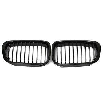 Nero lucido griglia griglia per 3 bmw serie e46 99-01 4door 323 325