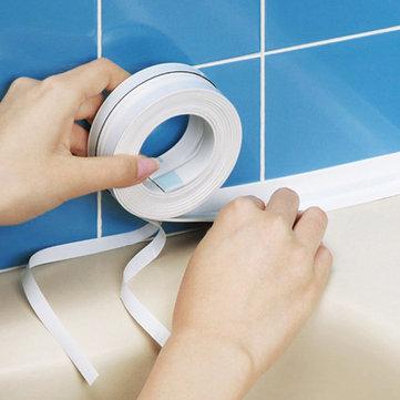 Honana Kitchen Bathroom Wall Seal Ring Tape Waterproof Mold Proof Adhesive Tape