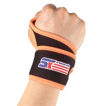 SHUOXIN Pressurized Wrist Support Wrist Guard Cuff Bracer Wrist Band
