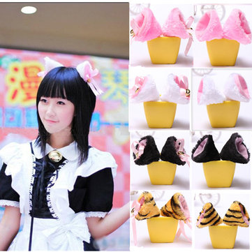 Cosplay Party Cat Ear Hair Clips