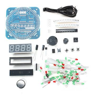 Просто лучший DIY набор! Собери классные LED часы!