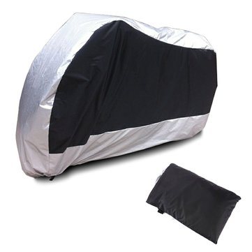 Motorcycle Bike Moped Scooter Rain Dust UV Resistant Cover
