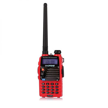 baofeng uv-5RA rosso a due bande ricetrasmettitore portatile walkie talkie
