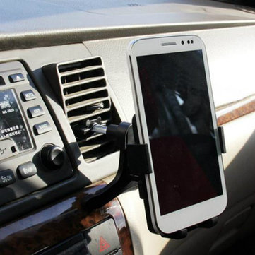 Universal 360 Degree Rotation Car Air Vent Out Outlet Mount Holder Stand pour Xiaomi iPhone Samsung