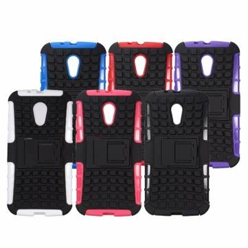 Armor Hybrid Rugged Case For Motorola G2 G+1 2nd Ge