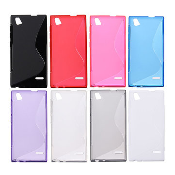 S Line Wave Slim TPU Silicone Gel Case For ZTE Blade Vec 4G