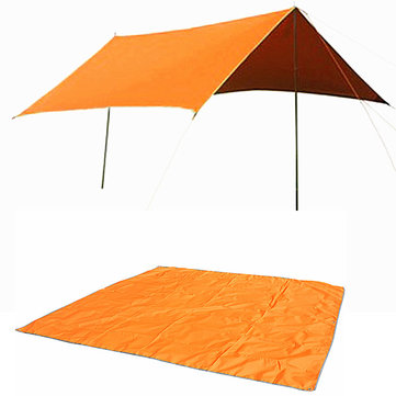 Naturehike 3-4 Person Sunshade Tent Mat Oxford Sun Shelter Ground Cloth Shed Canopy With Pouch