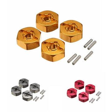 WLtoys アップグレード メタル 六角アダプタ 7mm 12mm  A959-B A979-B A969 A969 A969 K929 RCカーパーツ