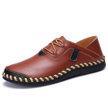 Large Size Men Genuine Leather Shoes