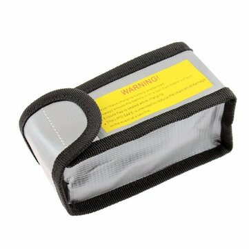 YND0045 LiPo Battery Explosion Proof Safety Bag 64x50x125mm