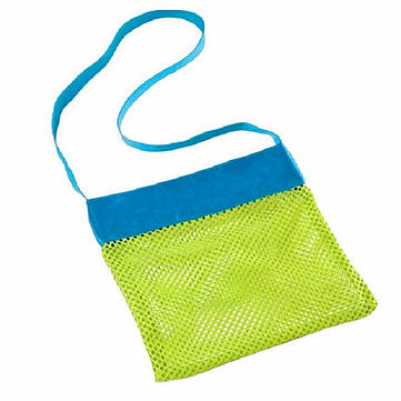 Kids Toys Shell Collect Grid Beach Bag Mesh Backpack New Baby Beach Pouch Children Beach Tote