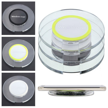 Universal QI Wireless Charger Charging Pad Mat For iPhone Samsung Galaxy S6...