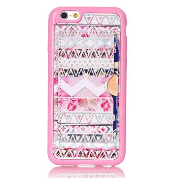 الوردي القبيلة نمط عودة حامل القضية ل iPhone 6 6s