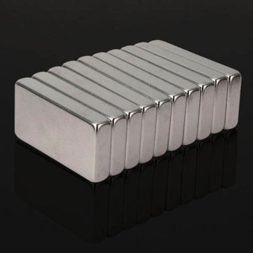10pcs N35 Super Strong Block Magnets 30x15x5mm Rare Earth Neodymium Magnets