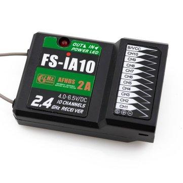 FlySky 2.4G 10CH AFHDS 2A FS-iA10 Receptor para RC Modelos
