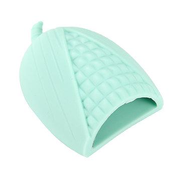 8 cores em forma de milho escovas de maquiagem limpador de silicone cosméticos escova ferramenta de limpeza