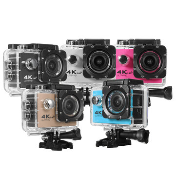 F60R HD WIFI 170 Degree Wide Angle Waterproof Action Sport Camera with Remote Control