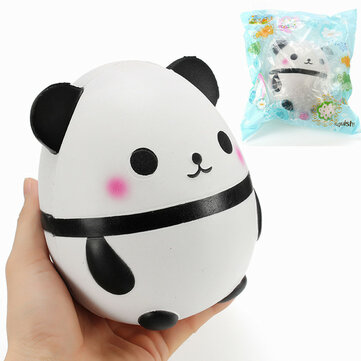 Squishy Panda Doll Egg Jumbo 14cm Slow Rising With Packaging Collection Gift Decor Soft Squeeze Toy