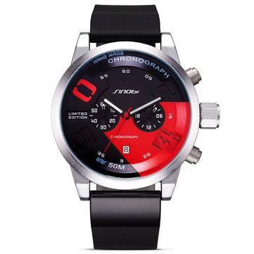 SINOBI 9680 Fashion Sport Speed Chronograph