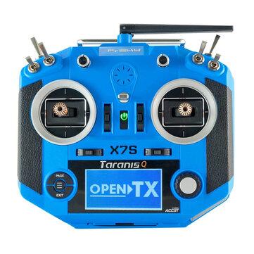 Frsky 2.4G 16CH ACCST Taranis Q X7S Transmitter Mode 2 M7 Gimbal Wireless Trainer Free Link App Bag