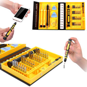 ORICO ST2-BK 38 in 1 Multifunction Screwdriver Set Hand Repair Tools for iPhone Xiaomi Notebook