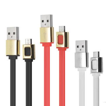 HOCO UPM11 1.2M Micro cavo di ricarica di sincronizzazione USB per il telefono cellulare da tavoletta
