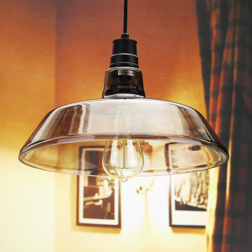 Industrial Retro Vintage Pipe Glass Edison Bulb Pendent Ceiling Light Bar Living Room Lamp