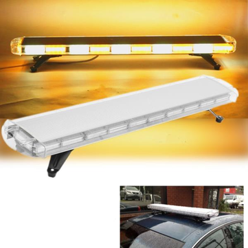 47inch yellow white 88 led emergency flash warning light bar 47inch yellow white 88 led emergency flash warning light bar strobe light for car truck aloadofball Image collections