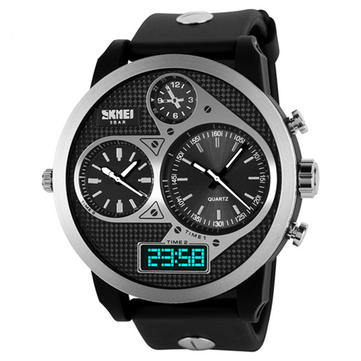 SKMEI Cool Luxury LED Analog Digital Sports Wrist Watch