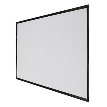 84 Inch Projector Screen 16:9 186cm X 105cm Projector Accessories Fabric Material Matte White