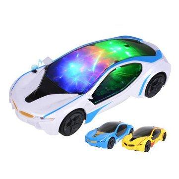 Giocattolielettricidell'automobilediconcettodi sport di emulazione della luce di musica di modello di plastica dell'automobile elettrica per i bambini