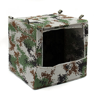 Jacht Draagbare Vouwbare Camouflage Doos-type Airsoft Gun Shooting Game Target Case