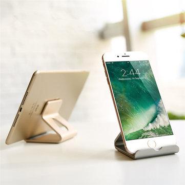 universal portable aluminum desktop stand holder dock mount for iphone 7 samsung xiaomi tablet. Black Bedroom Furniture Sets. Home Design Ideas