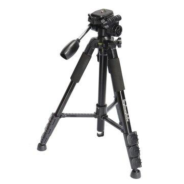 Tripé de alumínio Q111 monopé max 3 kg de carga com bola de cabeça para digital DSLR câmera de vídeo câmera